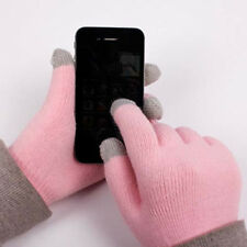 bulk Touch Screen Gloves Smartphone Texting Stretch Adult Free Size winter knit