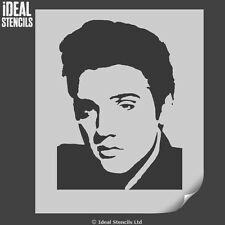 Elvis Presley Stencil Wall Art Craft Decor Painting Iconic Ideal Stencils