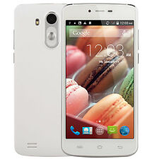 "New 5.0""Android Smartphone GSM WCDMA WiFi GPS Dual Cameras SIM Card Cell Phone"