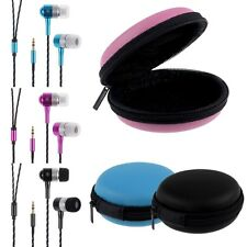 For Phone Laptop PC Tablet MP3 MP4 3.5mm Headphone Earphone Headset Stereo + Bag