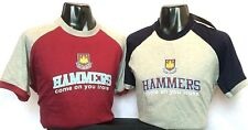 Men's Official West Ham Hammers T-Shirt Crew Neck Short Sleeve 100% Cotton