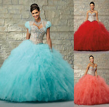 Free Shipping Pretty Handmade Beautiful Quinceanera Dresses Custom Made All Size