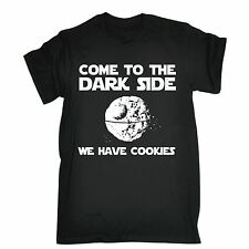 Come To The Dark Side We Have Cookies T-SHIRT Sci Fi Funny birthday fashion gift