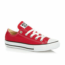 Converse Chuck Taylor Red White Youth Boy Girl Ox Kids Canvas Shoes Size 10.5-3