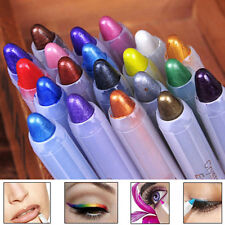 Delicate Glitter Eye Shadow Eyeliner Lip Liner Pen Cosmetic Makeup Tool 20Colors
