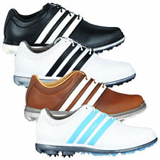 """SALE PRICES"" Adidas Golf Mens Pure 360 Ltd Waterproof Leather Golf Shoes"