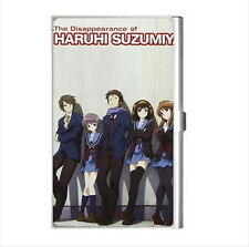 NEW Cigarette Credit Business Card Holder Disappearance Haruhi Suzumiya anime