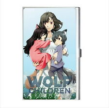 NEW Cigarette Credit Business Card Holder Wolf Children anime manga *collection