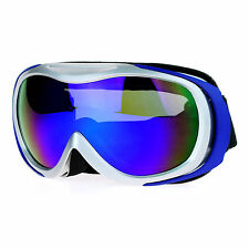 Snowboard Ski Goggles Multicolor Mirror Anti-Fog Double Lens UV Protection
