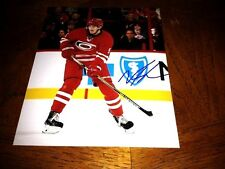 Noah Hanifin Autographed Carolina Hurricanes 8x10 Photo    COA