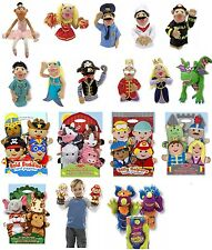 Hand Puppets + Hand and Rod Puppets Melissa and Doug Police Pirate Chef Dragon
