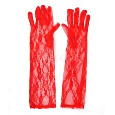 1 Pair Sexy Long Lace Ladies Gloves Evening Party Hot Bridal Women Accessory