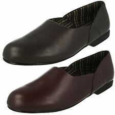 Mens Clarks Leather Slippers King Ross