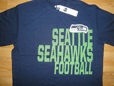 Seattle Seahawks Football NFL TEAM APPAREL T-SHIRT Tee *NEW W/TAGS*