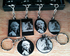 Personalised Photo/Text Engraved Keyring Keychain  Birthday Wedding Xmas Gifts