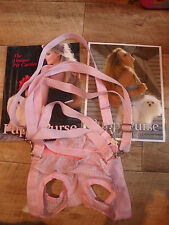 THE ORIGINAL PUPPY PURSE PET CARRIER PINK FOR A L PUPPY BNWT RRP £40.00