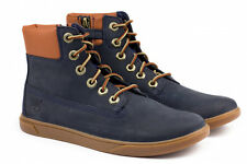 TIMBERLAND A161T GROVTEN 6In Blue Juniors Unisex Boys And Girls  BOOTS
