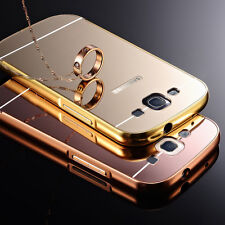 New Aluminum Metal Ultra Thin Mirror Back Case Cover For Samsung Galaxy S3/Neo