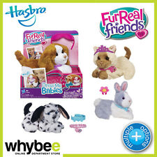 HASBRO FURREAL FRIENDS DRESS ME BABIES TOYS PUP / KITTY / BUNNY & MORE! AGES 4+