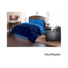 Reversible Bed In A Bag Down Alternative Comforter 3Pc Set King Queen Twin