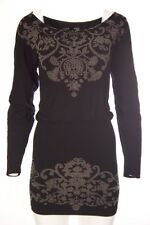 M. Rena Casual Long Sleeve Sexy Dress One Size
