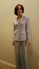 Evan Picone Classic Time Navy  2pc Pant Suit Blazer Jacket New with Tags $200