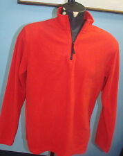 Apple Fleece Mens Long Sleeve 1/4 Zip Pullover Shirt Retail Store Adult Genius