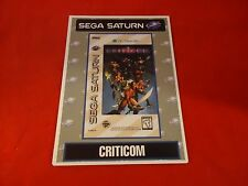 Criticom Sega Saturn Vidpro Promotional Display Card ONLY