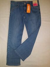Gymboree Girls Blue Denim Jean Pants Straight Leg Adjustable Waist NWT 6 Plus