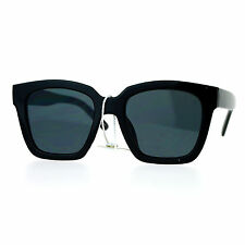 Super Flat Lens Sunglasses New Hipster Celebrity Designer Fashion Shades