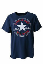 BOYS CONVERSE ALL STARS LOGO T-SHIRT STYLE 961009 - NAVY BLUE