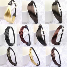 Womens Braid / Straight Wig Elastic Hair Band Rope Scrunchie Ponytail Holder XN