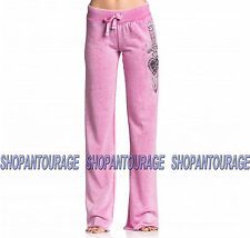 SINFUL Jewel Heist S3679 Women`s New Pink Track Pants By Affliction