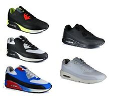 UK Boys Fitness Gym Sports Running Air Trainers Mens Shock Absorbing Shoes Size