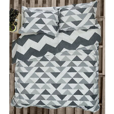 Ardor Home Felix Charcoal Doona Quilt Cover Set Single Double Queen King Bed