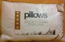 New Luxury Duck Feather Down And Goose Feather Down Pillow Pair