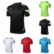 Stylish Cool Mens Sport T-Shirt Fitness Gym Quick Dry Stretch Top Tee Blouse