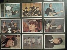 Original Topps Beatles Color Trading Cards 1964