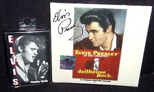 LOT OF 2 ELVIS WERTHEIMER PLAYING CARDS & MINI 2006 ELVIS GREATEST CALENDAR NEW
