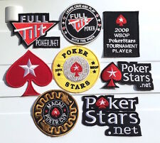 Full Tilt Pokerstars Macau Red Spade Casino Poker Cup Vegas GAMBLE Iron Patch