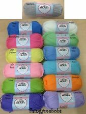 RED HEART SOFT BABY STEPS ARAN YARN/WOOL- 100g - 13 SOLID COLOURS - *UK SELLER*
