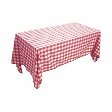 ArtOFabric Checkered Gingham in Poly-Cotton Tablecloth