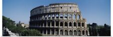 Poster Print Wall Art entitled Facade of the Colosseum, Rome, Italy