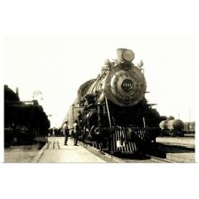 Poster Print Wall Art entitled Train in station