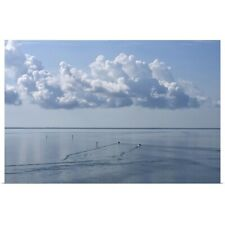 Poster Print Wall Art entitled Calm waters in the Gulf of Mexico