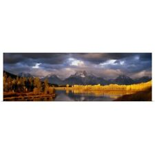 Poster Print Wall Art entitled USA, Wyoming, Grand Teton National Park scenic