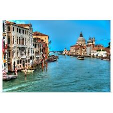 Poster Print Wall Art entitled Grand Canal, Venice