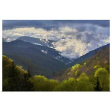 Poster Print Wall Art entitled Great Smoky Mountains National Park, North