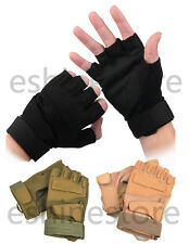 Outdoor Sports Half Finger Military Tactical Airsoft Hunting Motorcycle Gloves