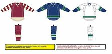 Reebok Vancouver Canucks Edge Uncrested Gamewear 25P00 Jersey + SX100 Socks
